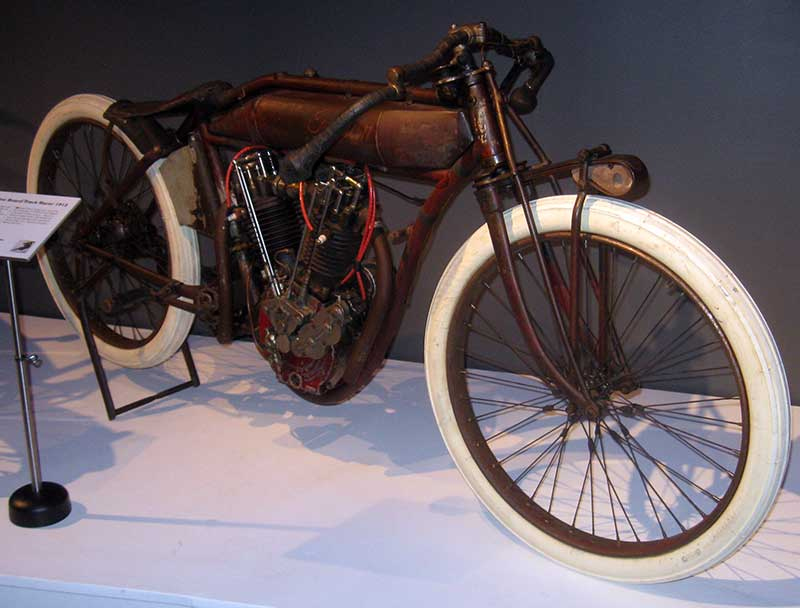 Indian 8 Valve Board Track Racer 1000 Cc 1913