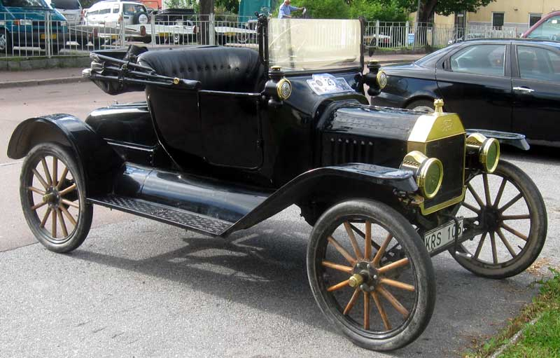 Heritage Museums &amp- Gardens 1915 Ford Model T Couplet - Heritage ...